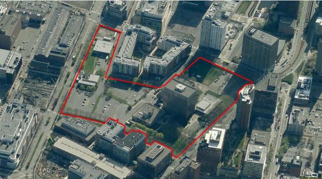 Today's anti-urban site plan