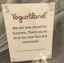 Yogurtland (now closed)